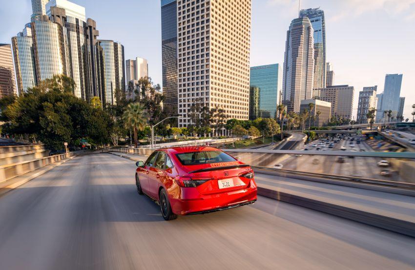 Honda Civic 2022 mula dijual di AS – bermula RM94k, 2.0L NA & 1.5L Turbo, standard dengan Honda Sensing Image #1309449