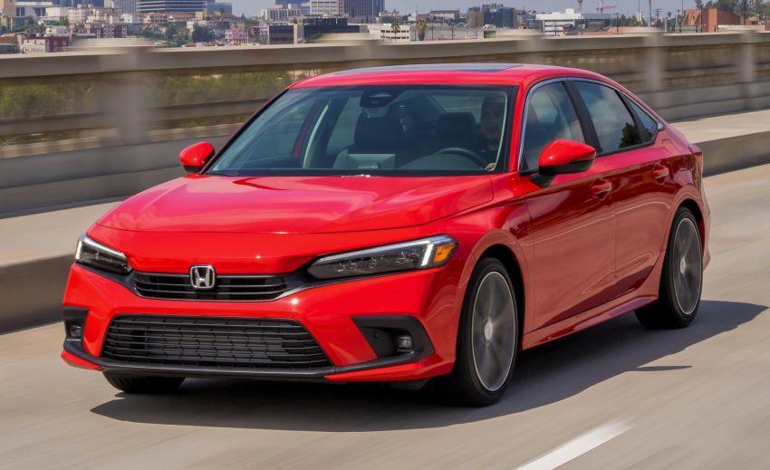 Honda Civic 2022 mula dijual di AS – bermula RM94k, 2.0L NA & 1.5L Turbo, standard dengan Honda Sensing Image #1309420
