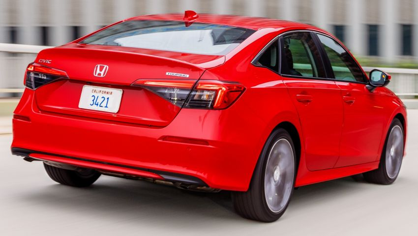 2022 Honda Civic goes on sale in US, from RM93,800 Image #1309080