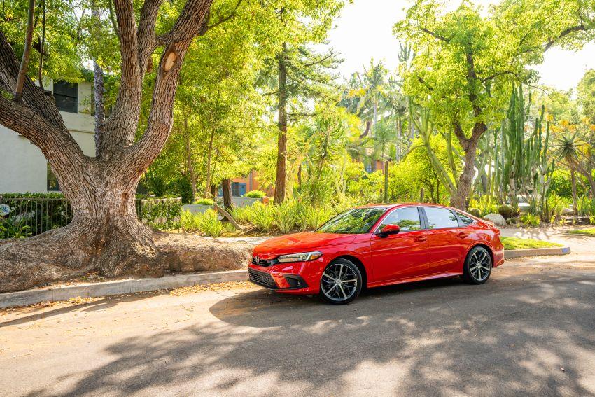 Honda Civic 2022 mula dijual di AS – bermula RM94k, 2.0L NA & 1.5L Turbo, standard dengan Honda Sensing Image #1309412