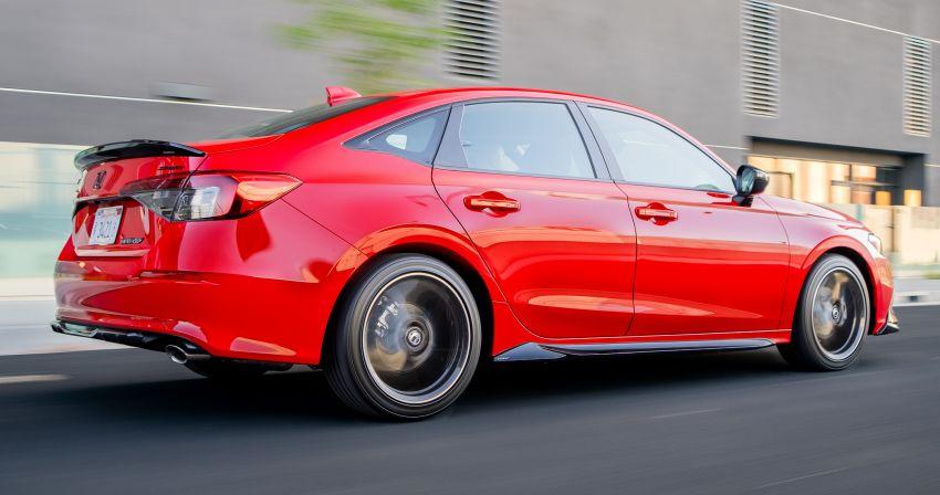 Honda Civic 2022 mula dijual di AS – bermula RM94k, 2.0L NA & 1.5L Turbo, standard dengan Honda Sensing Image #1309448