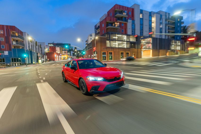 2022 Honda Civic goes on sale in US, from RM93,800 Image #1309048