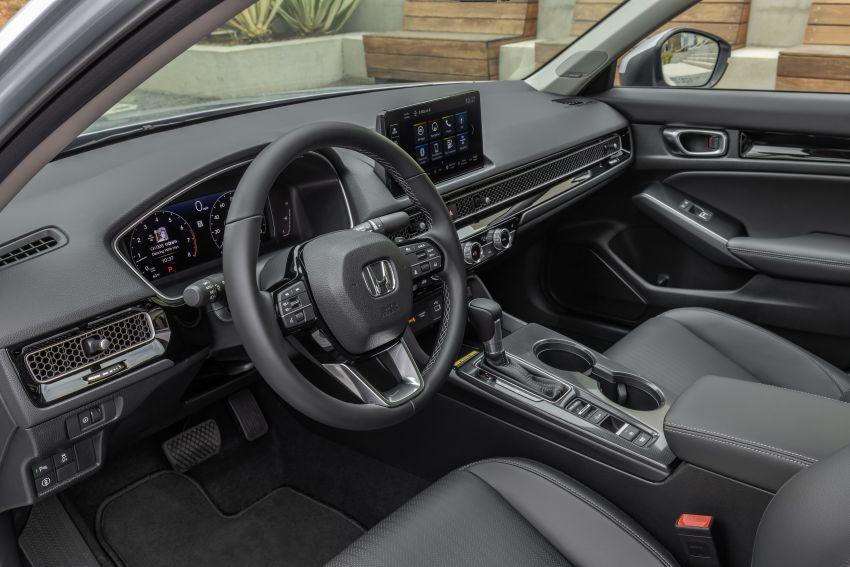 Honda Civic 2022 mula dijual di AS – bermula RM94k, 2.0L NA & 1.5L Turbo, standard dengan Honda Sensing Image #1309409