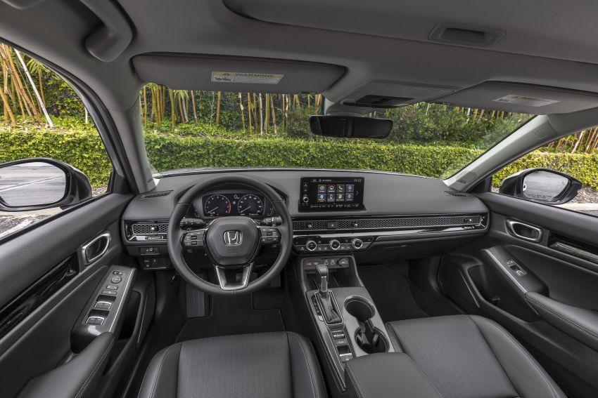 Honda Civic 2022 mula dijual di AS – bermula RM94k, 2.0L NA & 1.5L Turbo, standard dengan Honda Sensing Image #1309408