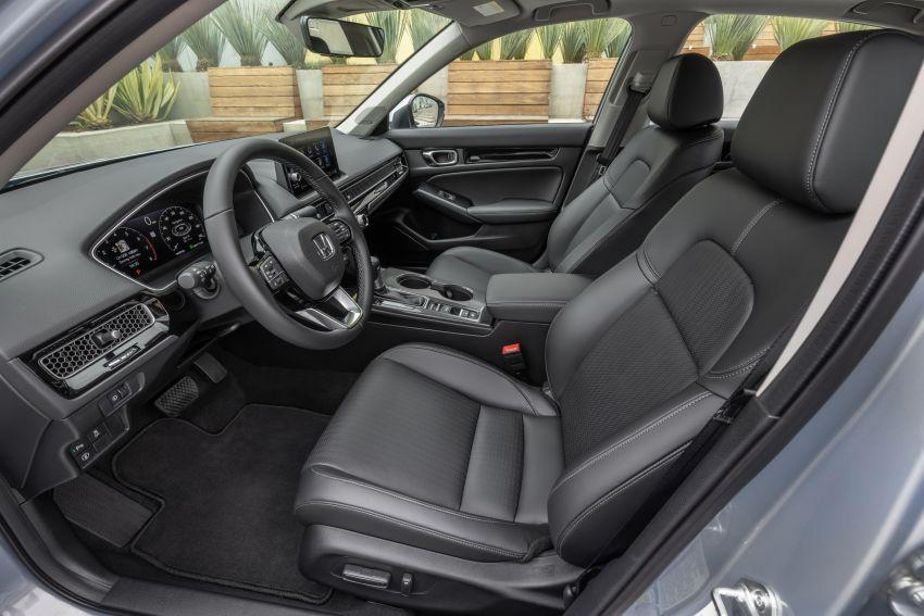 Honda Civic 2022 mula dijual di AS – bermula RM94k, 2.0L NA & 1.5L Turbo, standard dengan Honda Sensing Image #1309406