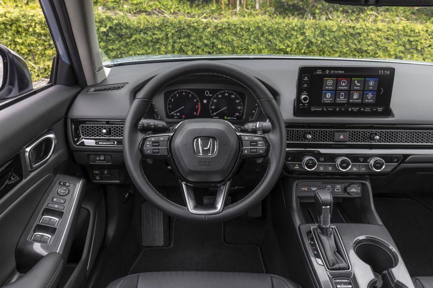 Honda Civic 2022 mula dijual di AS – bermula RM94k, 2.0L NA & 1.5L Turbo, standard dengan Honda Sensing Image #1309403