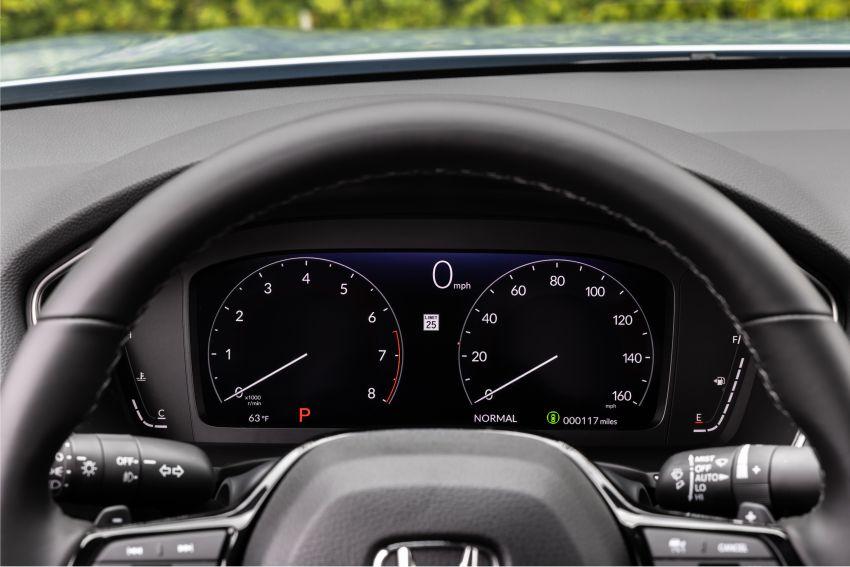 Honda Civic 2022 mula dijual di AS – bermula RM94k, 2.0L NA & 1.5L Turbo, standard dengan Honda Sensing Image #1309401