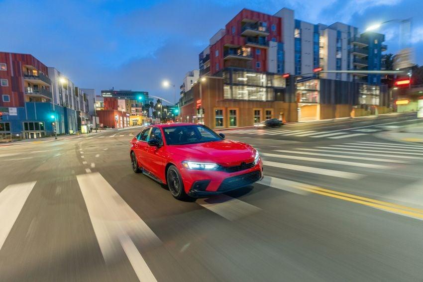 Honda Civic 2022 mula dijual di AS – bermula RM94k, 2.0L NA & 1.5L Turbo, standard dengan Honda Sensing Image #1309446