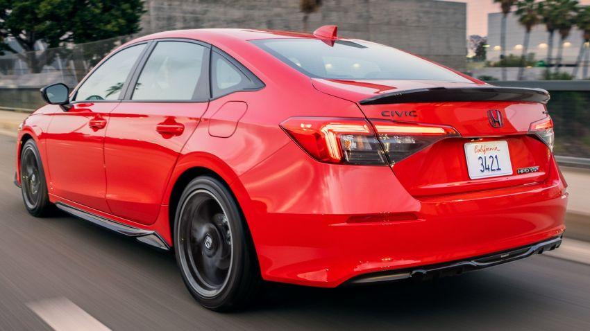 Honda Civic 2022 mula dijual di AS – bermula RM94k, 2.0L NA & 1.5L Turbo, standard dengan Honda Sensing Image #1309447