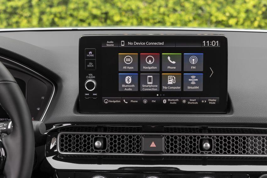 Honda Civic 2022 mula dijual di AS – bermula RM94k, 2.0L NA & 1.5L Turbo, standard dengan Honda Sensing Image #1309395