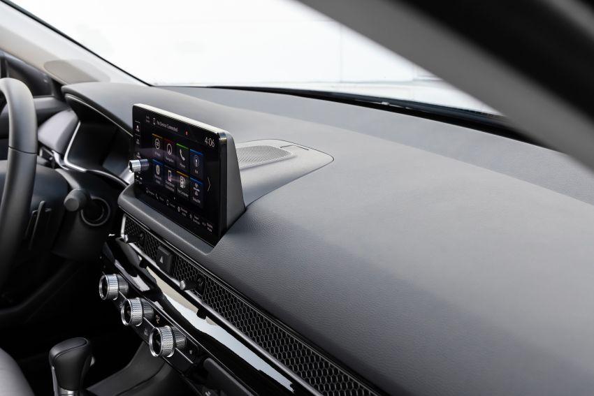 Honda Civic 2022 mula dijual di AS – bermula RM94k, 2.0L NA & 1.5L Turbo, standard dengan Honda Sensing Image #1309392