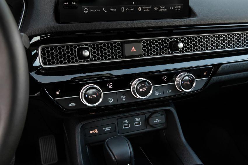 Honda Civic 2022 mula dijual di AS – bermula RM94k, 2.0L NA & 1.5L Turbo, standard dengan Honda Sensing Image #1309389