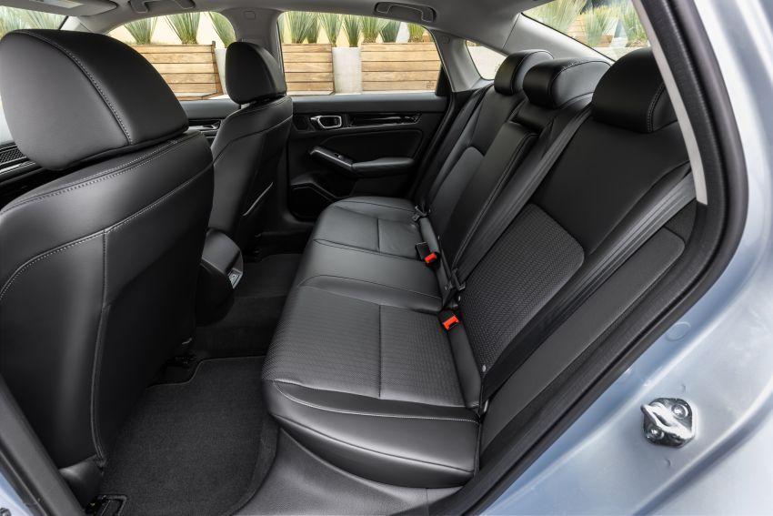 Honda Civic 2022 mula dijual di AS – bermula RM94k, 2.0L NA & 1.5L Turbo, standard dengan Honda Sensing Image #1309383