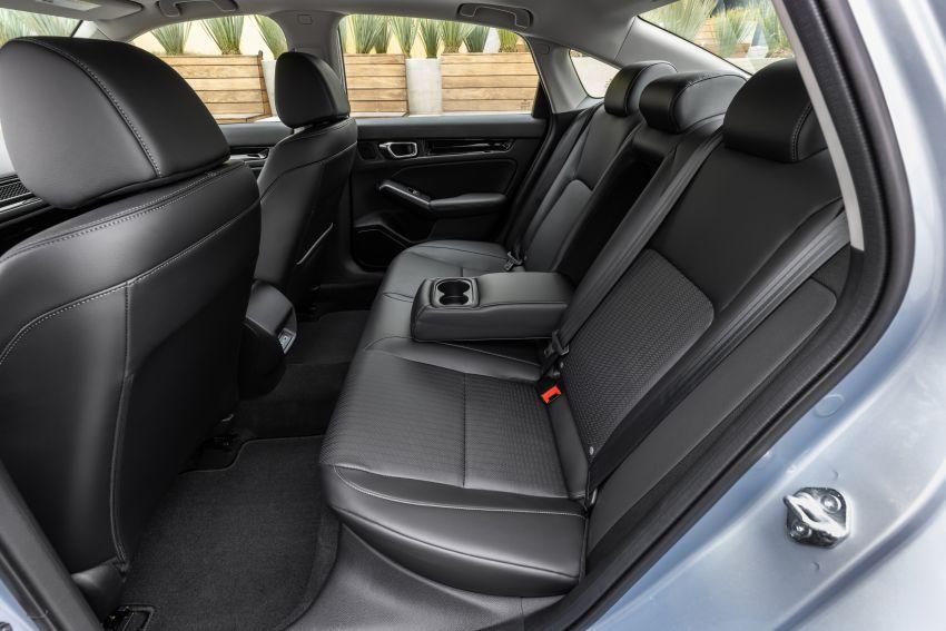 Honda Civic 2022 mula dijual di AS – bermula RM94k, 2.0L NA & 1.5L Turbo, standard dengan Honda Sensing Image #1309382