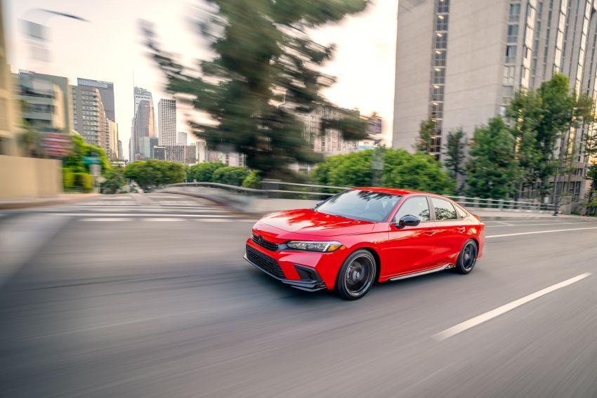 Honda Civic 2022 mula dijual di AS – bermula RM94k, 2.0L NA & 1.5L Turbo, standard dengan Honda Sensing Image #1309445