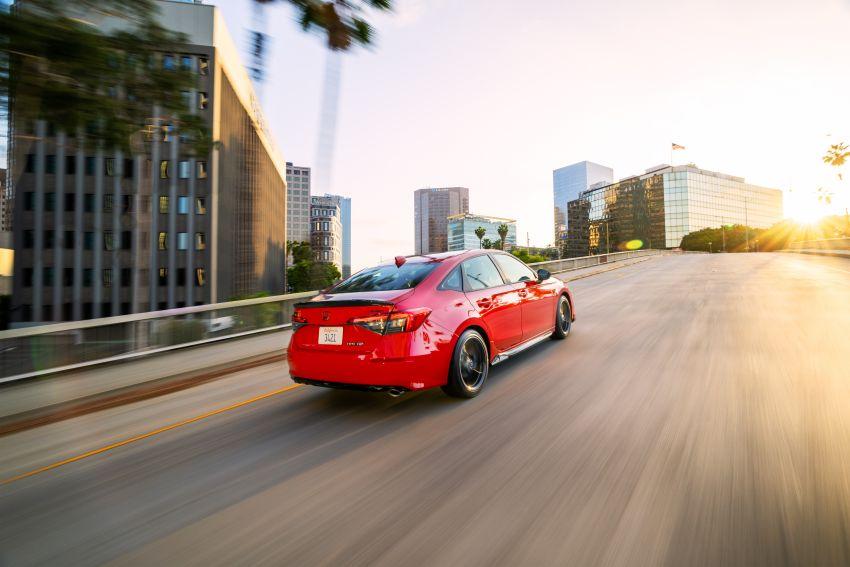 Honda Civic 2022 mula dijual di AS – bermula RM94k, 2.0L NA & 1.5L Turbo, standard dengan Honda Sensing Image #1309444