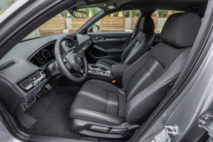 Honda Civic 2022 mula dijual di AS – bermula RM94k, 2.0L NA & 1.5L Turbo, standard dengan Honda Sensing Image #1309443