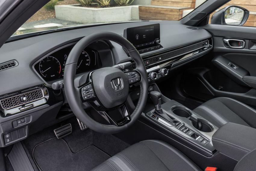 Honda Civic 2022 mula dijual di AS – bermula RM94k, 2.0L NA & 1.5L Turbo, standard dengan Honda Sensing Image #1309441