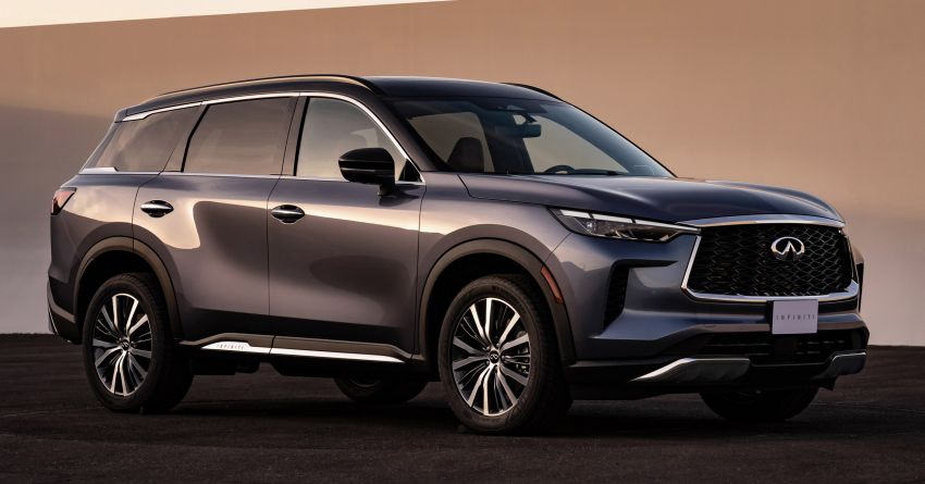 2022 Infiniti QX60 makes its official debut – three-row SUV gets luxury touches, 3.5L V6 with nine-speed auto Image #1311225