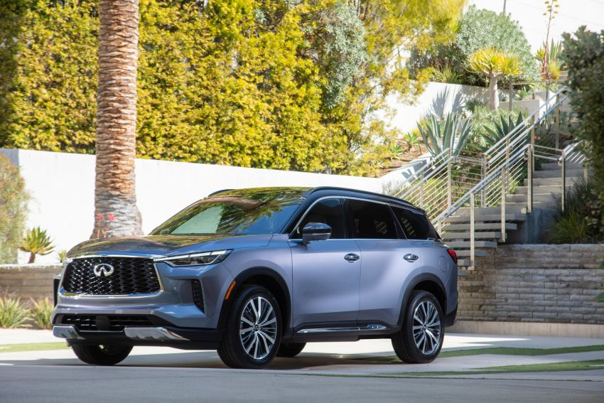 2022 Infiniti QX60 makes its official debut – three-row SUV gets luxury touches, 3.5L V6 with nine-speed auto Image #1311234