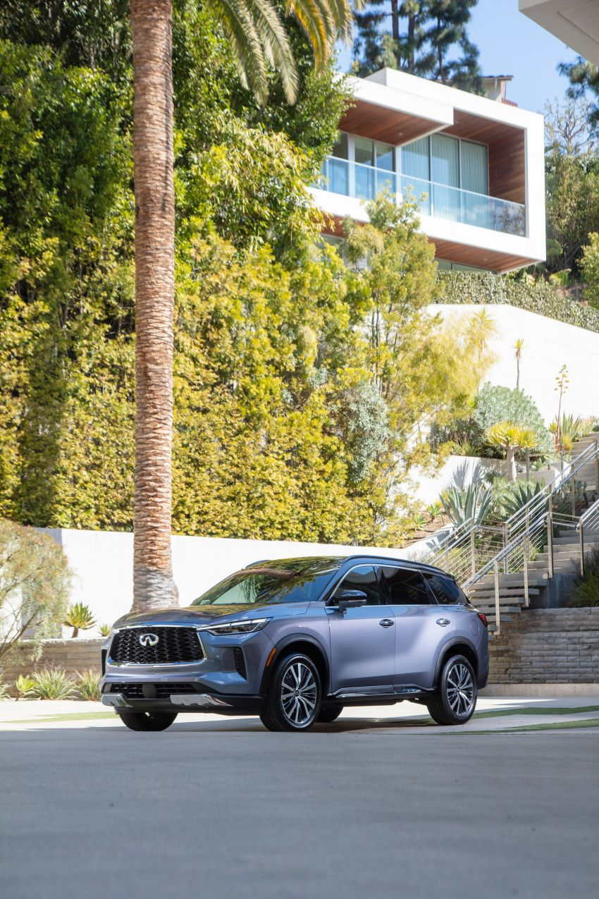 2022 Infiniti QX60 makes its official debut – three-row SUV gets luxury touches, 3.5L V6 with nine-speed auto Image #1311235