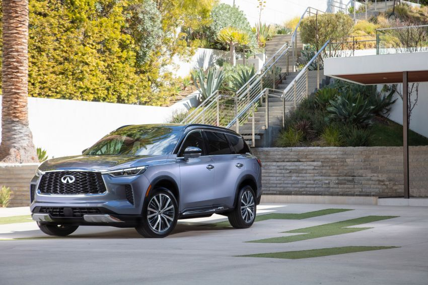 2022 Infiniti QX60 makes its official debut – three-row SUV gets luxury touches, 3.5L V6 with nine-speed auto Image #1311237