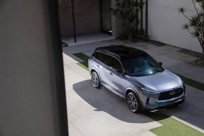 2022 Infiniti QX60 makes its official debut – three-row SUV gets luxury touches, 3.5L V6 with nine-speed auto Image #1311240