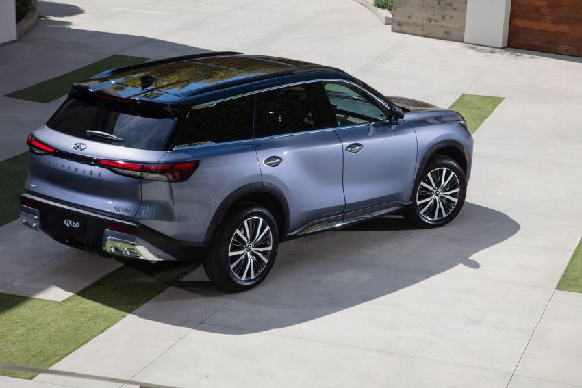 2022 Infiniti QX60 makes its official debut – three-row SUV gets luxury touches, 3.5L V6 with nine-speed auto Image #1311242