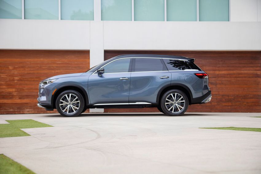 2022 Infiniti QX60 makes its official debut – three-row SUV gets luxury touches, 3.5L V6 with nine-speed auto Image #1311244