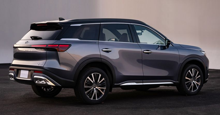 2022 Infiniti QX60 makes its official debut – three-row SUV gets luxury touches, 3.5L V6 with nine-speed auto Image #1311226