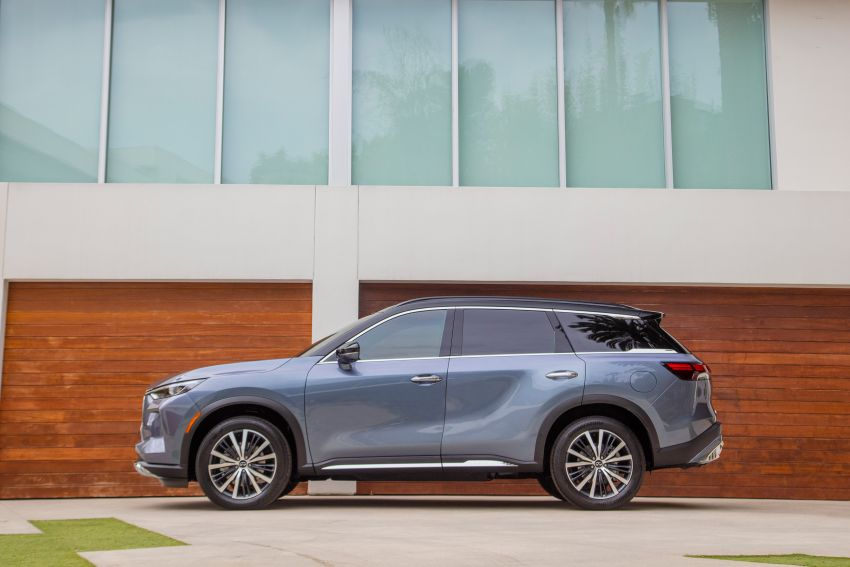 2022 Infiniti QX60 makes its official debut – three-row SUV gets luxury touches, 3.5L V6 with nine-speed auto Image #1311245