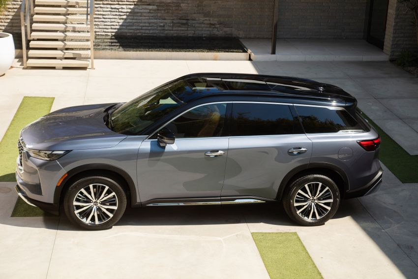 2022 Infiniti QX60 makes its official debut – three-row SUV gets luxury touches, 3.5L V6 with nine-speed auto Image #1311248