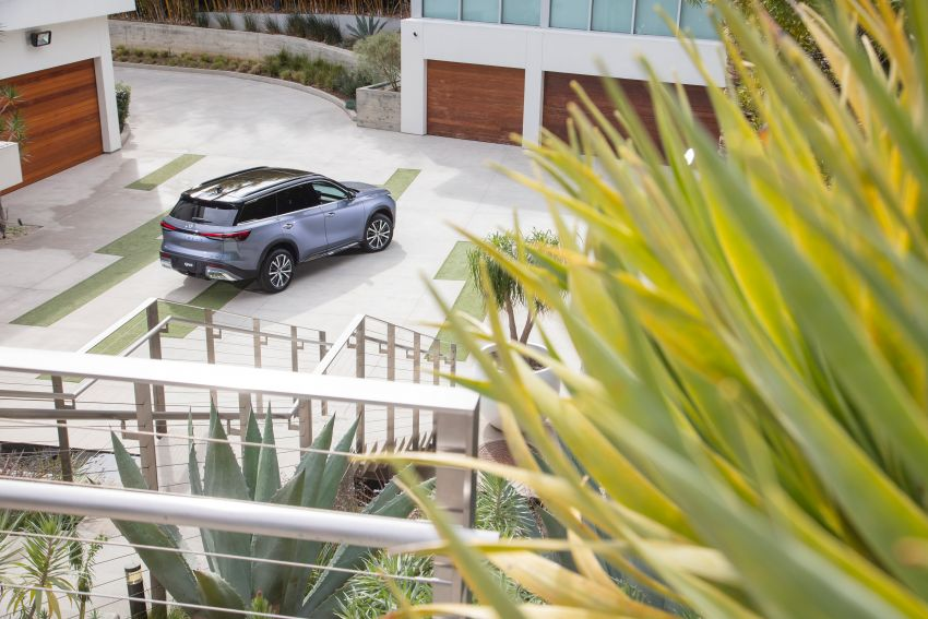 2022 Infiniti QX60 makes its official debut – three-row SUV gets luxury touches, 3.5L V6 with nine-speed auto Image #1311256