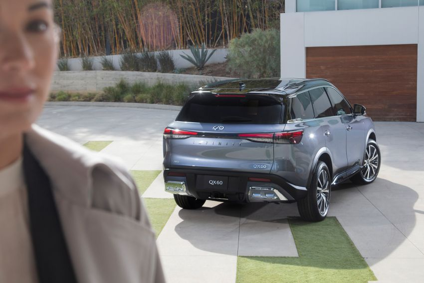 2022 Infiniti QX60 makes its official debut – three-row SUV gets luxury touches, 3.5L V6 with nine-speed auto Image #1311258