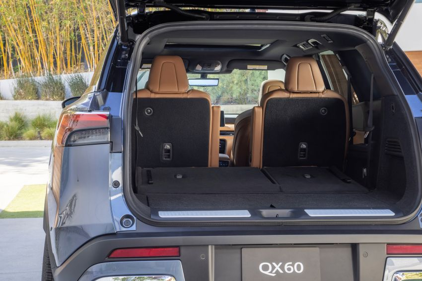 2022 Infiniti QX60 makes its official debut – three-row SUV gets luxury touches, 3.5L V6 with nine-speed auto Image #1311280