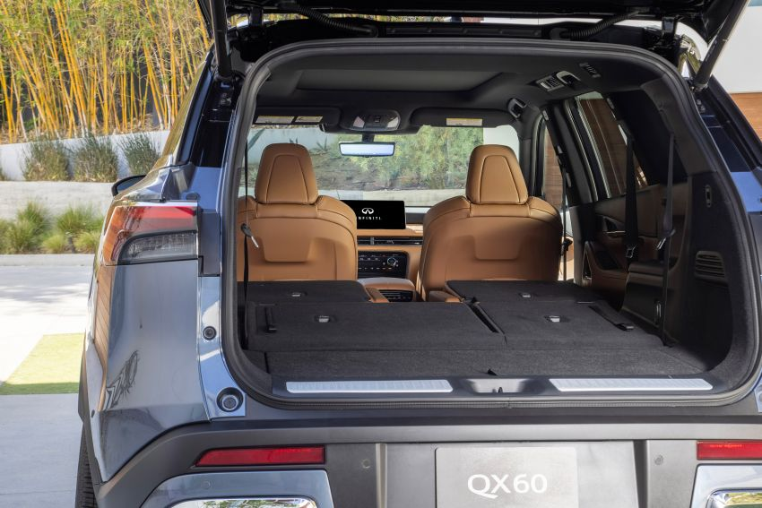 2022 Infiniti QX60 makes its official debut – three-row SUV gets luxury touches, 3.5L V6 with nine-speed auto Image #1311281