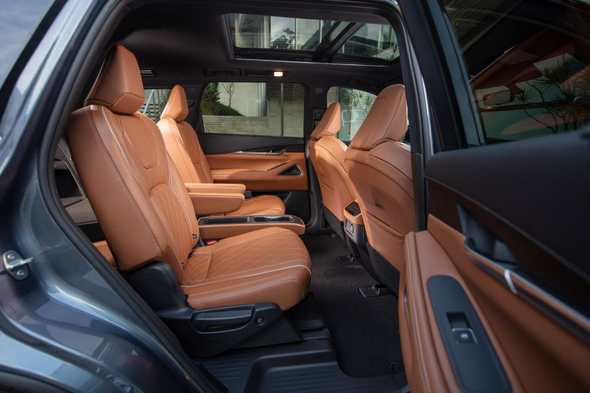 2022 Infiniti QX60 makes its official debut – three-row SUV gets luxury touches, 3.5L V6 with nine-speed auto Image #1311282