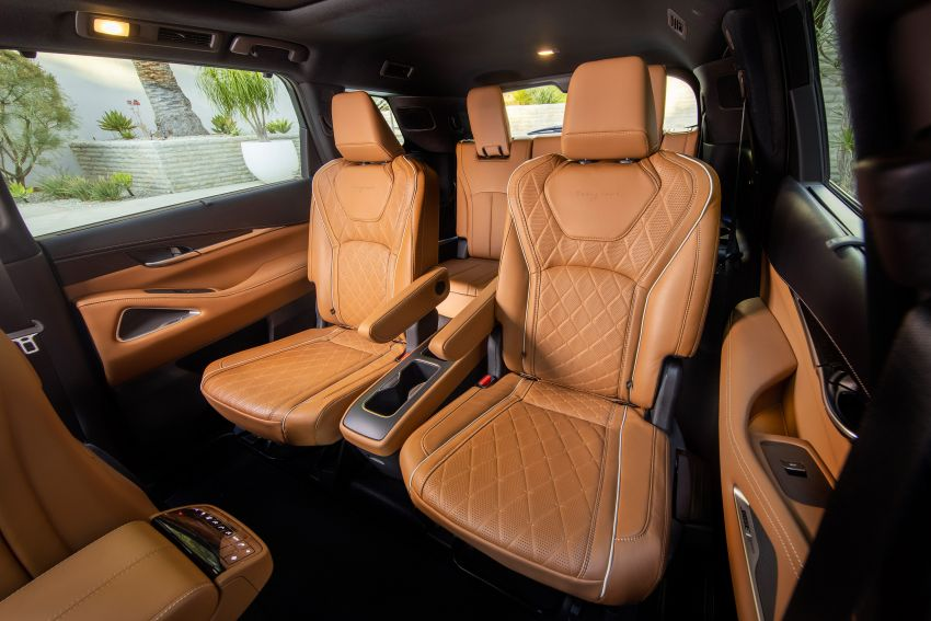 2022 Infiniti QX60 makes its official debut – three-row SUV gets luxury touches, 3.5L V6 with nine-speed auto Image #1311285