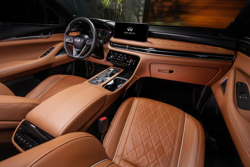 2022 Infiniti QX60 makes its official debut – three-row SUV gets luxury touches, 3.5L V6 with nine-speed auto Image #1311289