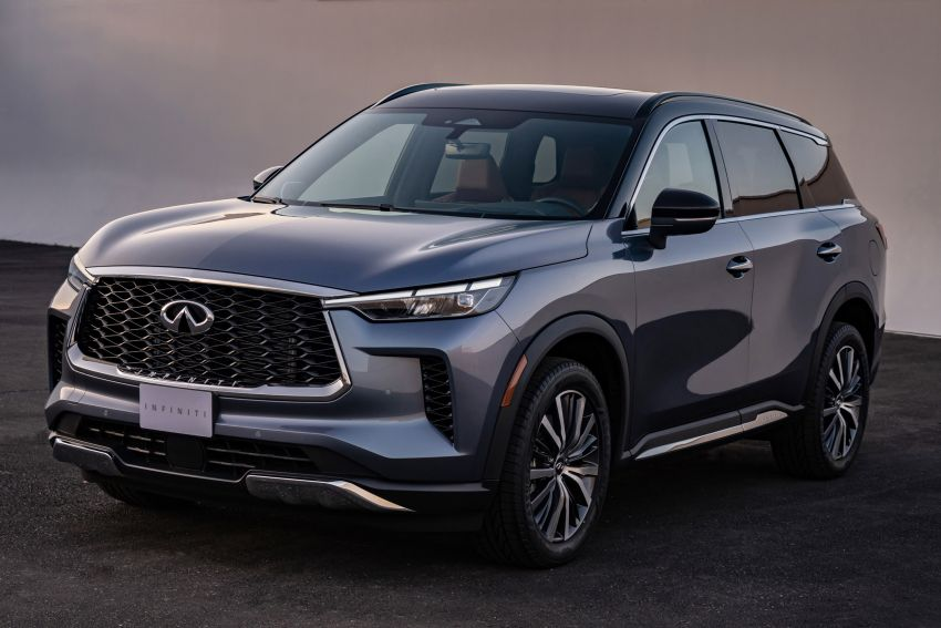 2022 Infiniti QX60 makes its official debut – three-row SUV gets luxury touches, 3.5L V6 with nine-speed auto Image #1311230