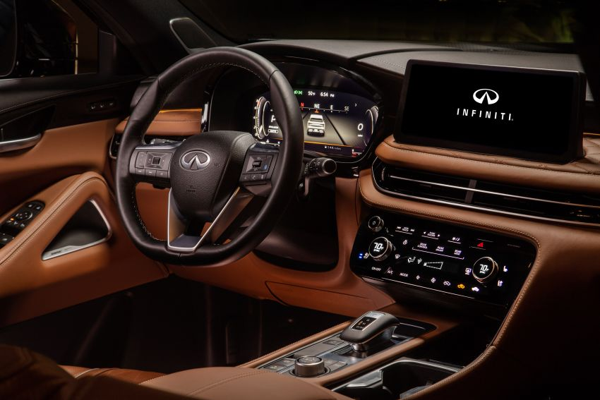 2022 Infiniti QX60 makes its official debut – three-row SUV gets luxury touches, 3.5L V6 with nine-speed auto Image #1311292