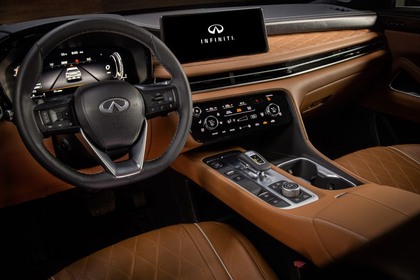 2022 Infiniti QX60 makes its official debut – three-row SUV gets luxury touches, 3.5L V6 with nine-speed auto Image #1311296