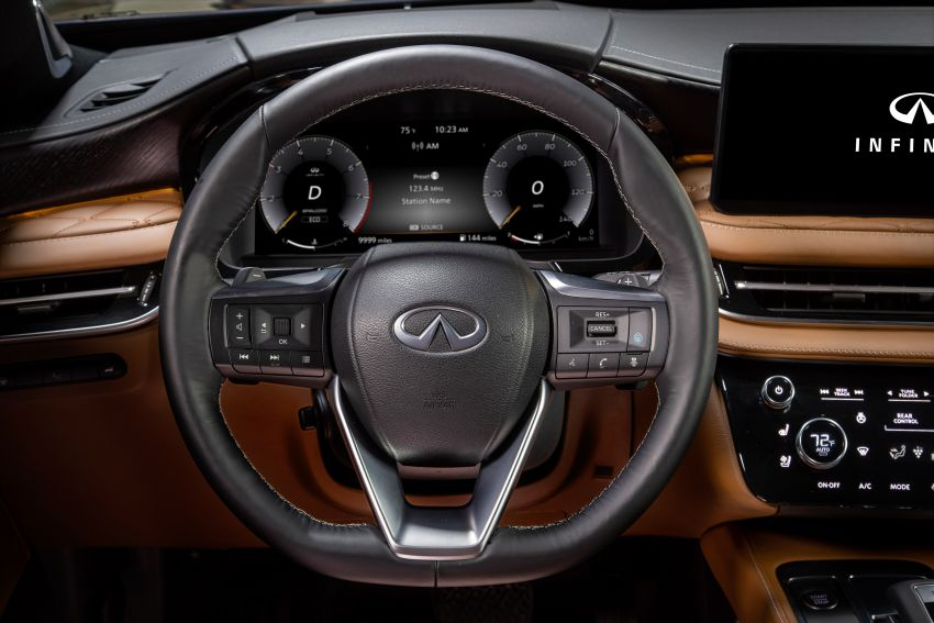 2022 Infiniti QX60 makes its official debut – three-row SUV gets luxury touches, 3.5L V6 with nine-speed auto Image #1311305