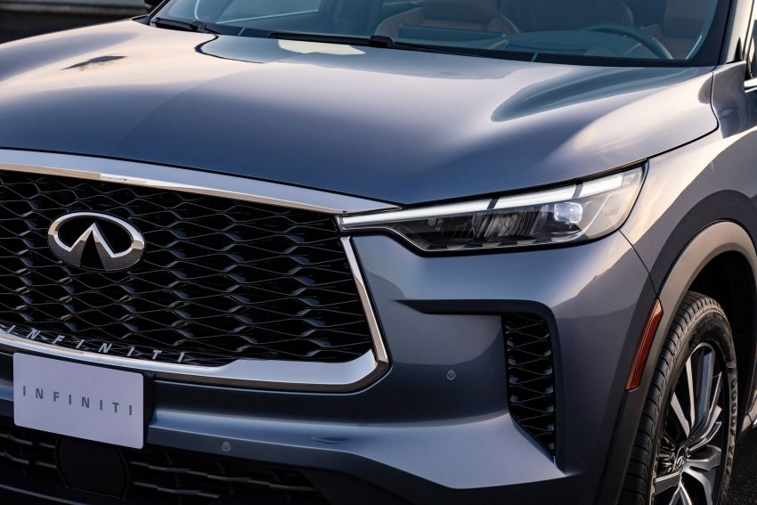 2022 Infiniti QX60 makes its official debut – three-row SUV gets luxury touches, 3.5L V6 with nine-speed auto Image #1311232