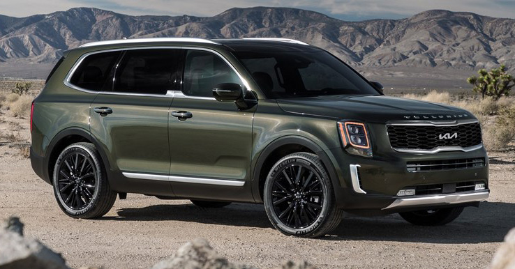 2022 Kia Telluride gets new logo, grille, kit in the US Image #1308168