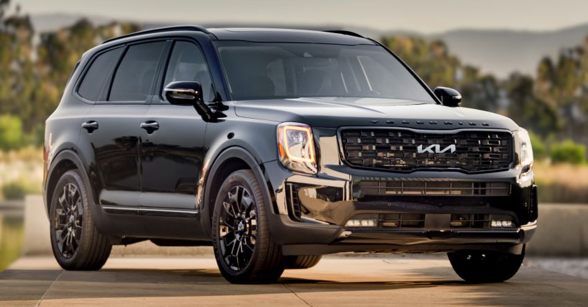 2022 Kia Telluride gets new logo, grille, kit in the US Image #1308169