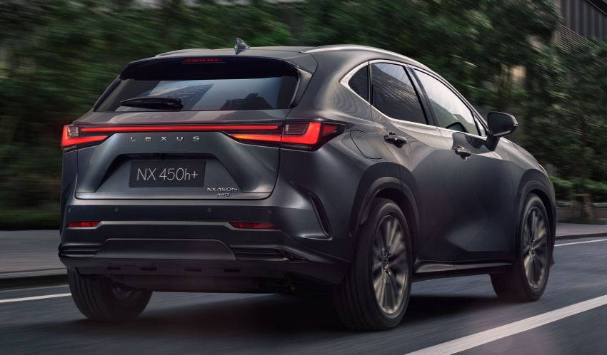 2022 Lexus NX officially revealed – second-gen SUV gets PHEV, 2.4 Turbo; new rear logo, interior concept Image #1306378