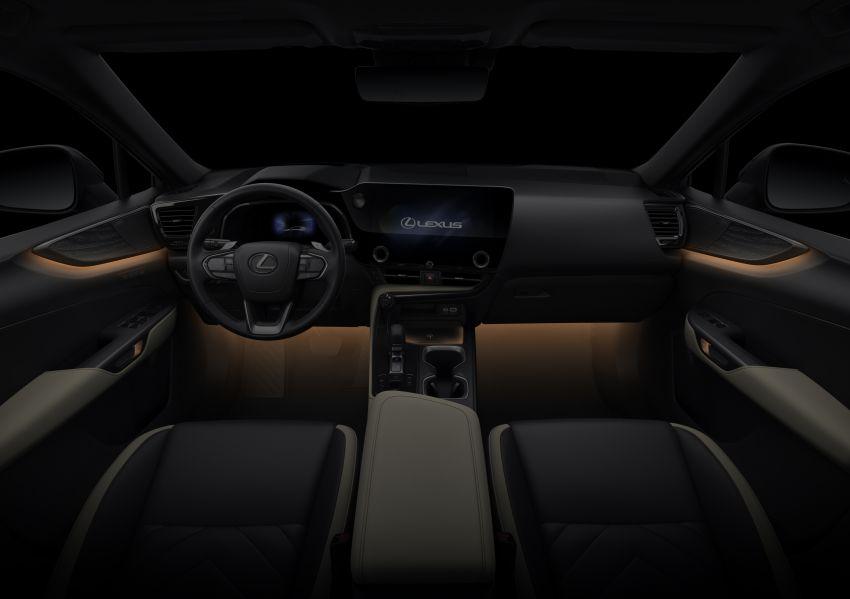 Lexus NX 2022 didedah – generasi kedua dirombak sepenuhnya, dapat enjin hibrid, PHEV dan 2.4 Turbo Image #1306977