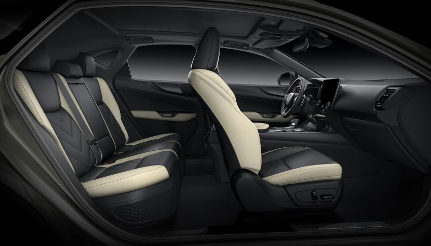 Lexus NX 2022 didedah – generasi kedua dirombak sepenuhnya, dapat enjin hibrid, PHEV dan 2.4 Turbo Image #1306980