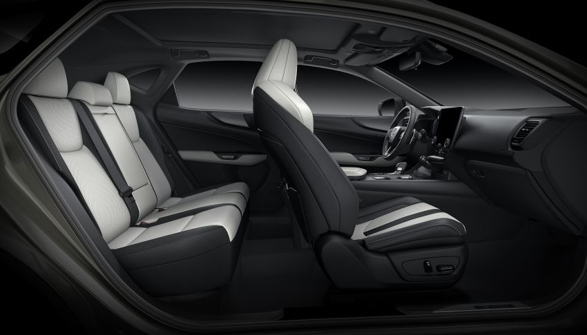 Lexus NX 2022 didedah – generasi kedua dirombak sepenuhnya, dapat enjin hibrid, PHEV dan 2.4 Turbo Image #1306981
